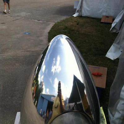 After BuffPro Metal Polishing Restoration